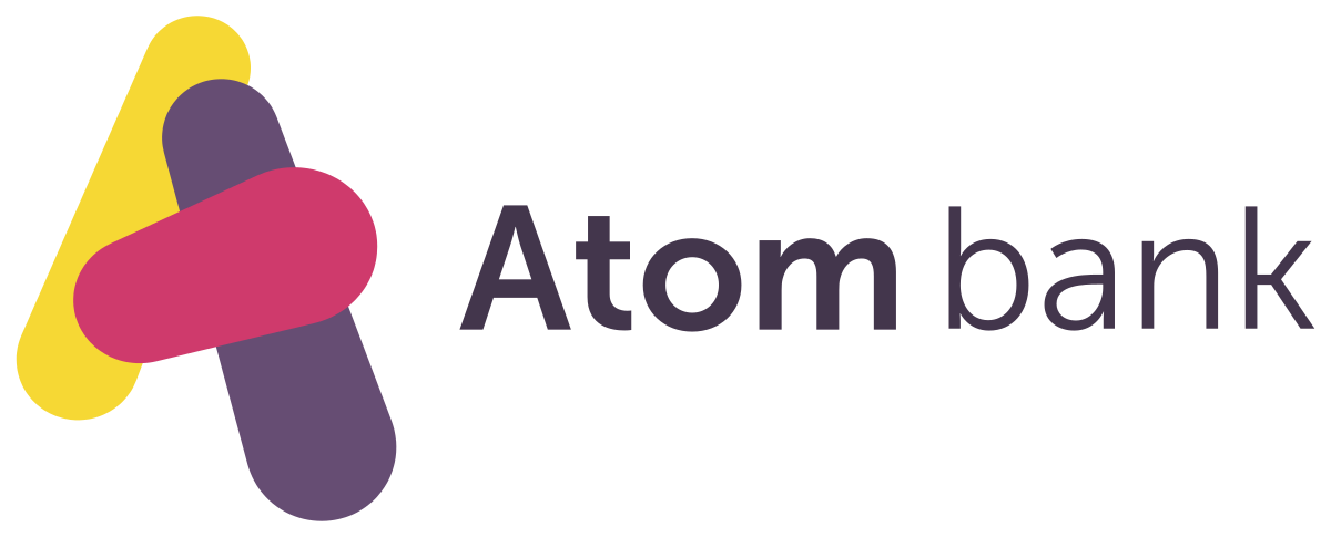 Atom bank: Reduced call center volume by 40% logo